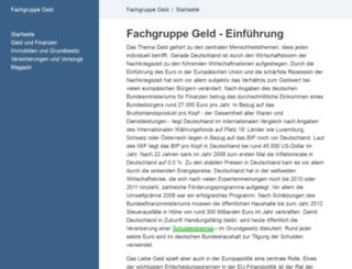 fachgruppe-geld.de screenshot