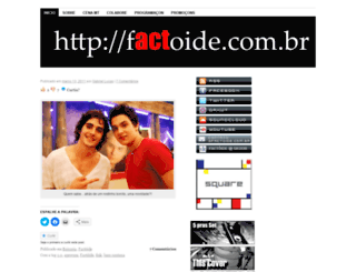 factoide.wordpress.com screenshot