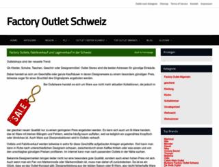 factory-outlet-schweiz.ch screenshot