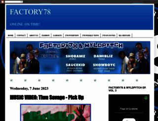 factory78.com screenshot