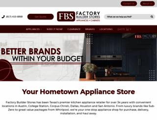 factorybuilderstores.com screenshot