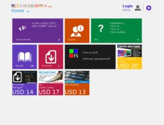 factorysoft.org screenshot