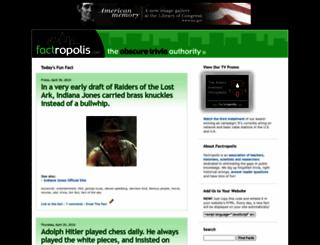 factropolis.com screenshot