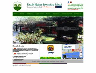 facultyschool.org screenshot
