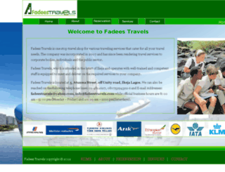 fadeestravels.com screenshot