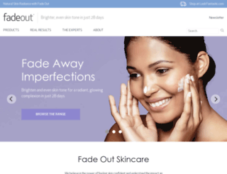 fadeout.com screenshot