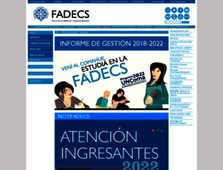 fadeweb.uncoma.edu.ar screenshot