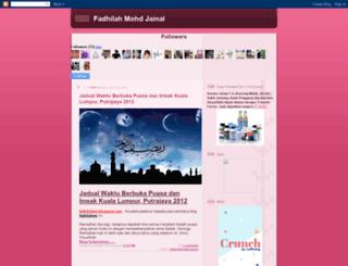 fadhilahmj.blogspot.com screenshot