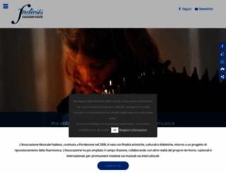 fadiesis.org screenshot