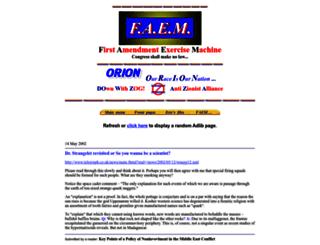faem.com screenshot