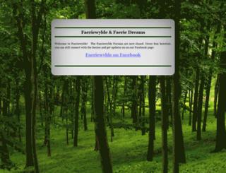 faeriewylde.com screenshot