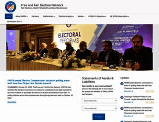 fafen.org screenshot