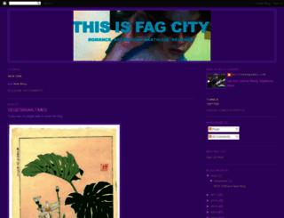 fagcity.blogspot.com screenshot