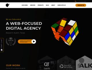 fahrenheitmarketing.com screenshot