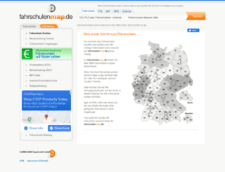 fahrschulenmap.de screenshot