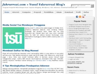 fahrurrozi.com screenshot