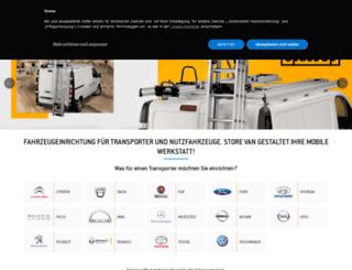 fahrzeugeinrichtung-storevan.de screenshot
