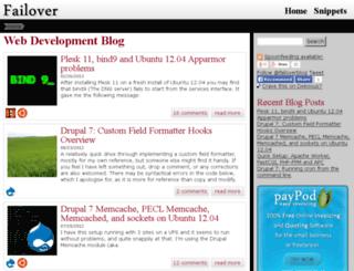 failover.co.za screenshot
