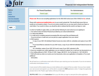 fairapp.com screenshot