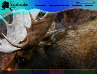 fairbanksalaska.us screenshot