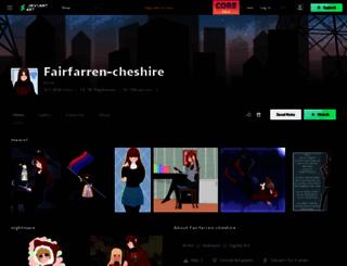 fairfarren-cheshire.deviantart.com screenshot