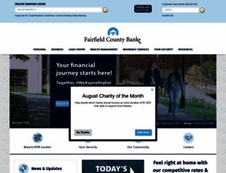 fairfieldcountybank.com screenshot