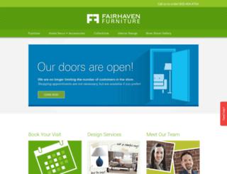 fairhaven-furniture.com screenshot