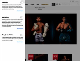fairtex.com screenshot