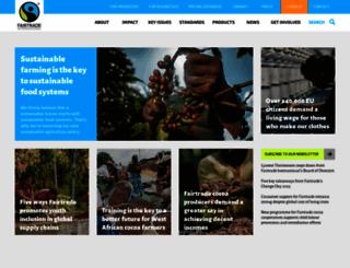 fairtrade.net screenshot