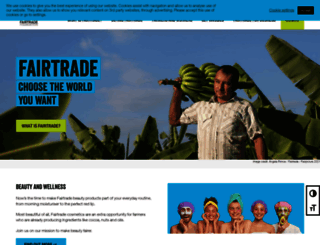fairtrade.org.uk screenshot