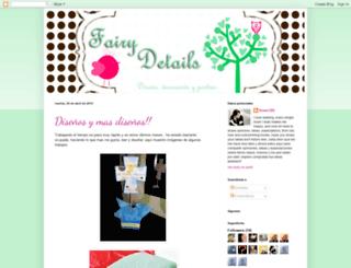 fairydetails.blogspot.com screenshot
