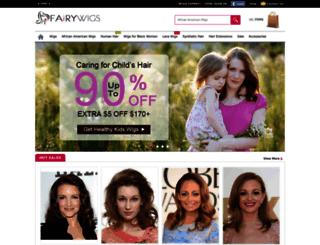 fairywigs.com screenshot