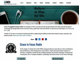 faithalone.org screenshot