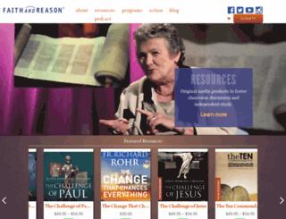 faithandreason.org screenshot