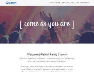 faithliftchurch.org screenshot