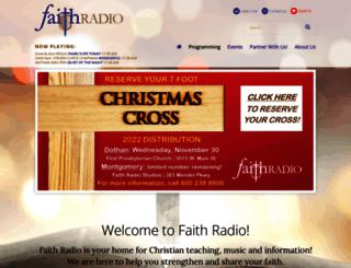 faithradio.org screenshot