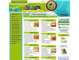 faizaneattar.net screenshot