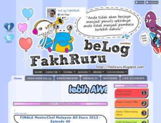 fakhruru.blogspot.com screenshot
