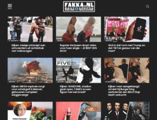 fakka.nl screenshot