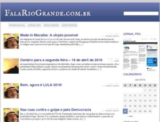 falariogrande.com.br screenshot