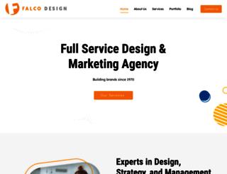 falcodesign.com screenshot