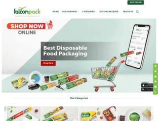 falconpack.com screenshot