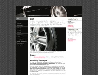 falg-dack.se screenshot