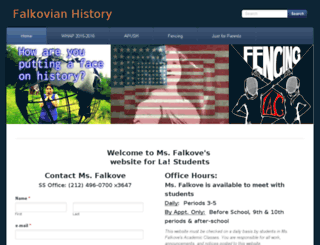 falkovehistory.weebly.com screenshot