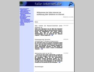 falle-internet.de screenshot