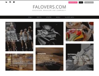 falovers.com screenshot