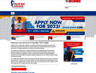 falsebaycollege.co.za screenshot