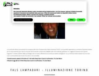 falslampadari.com screenshot