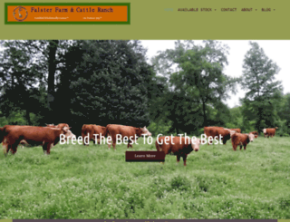 falsterfarm.com screenshot