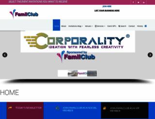 familclub.com.au screenshot